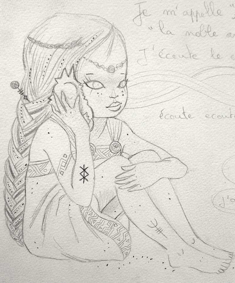 """LiliOum : """"Le message d'Odin"""" (2 pages) Viking11"""