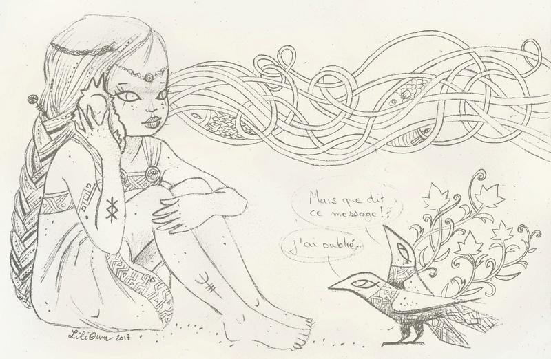 """LiliOum : """"Le message d'Odin"""" (2 pages) Viking12"""