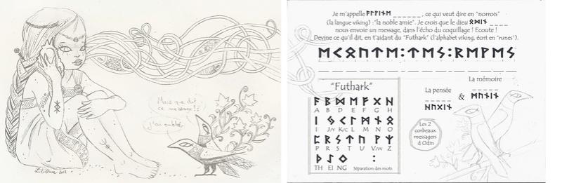"""LiliOum : """"Le message d'Odin"""" (2 pages) Viking14"""