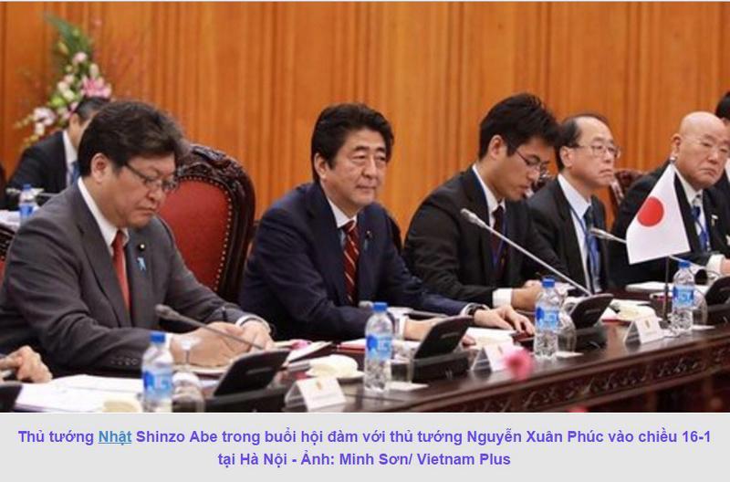 Thủ tướng Nhật Shinzo Abe thăm chính thức Việt Nam 213