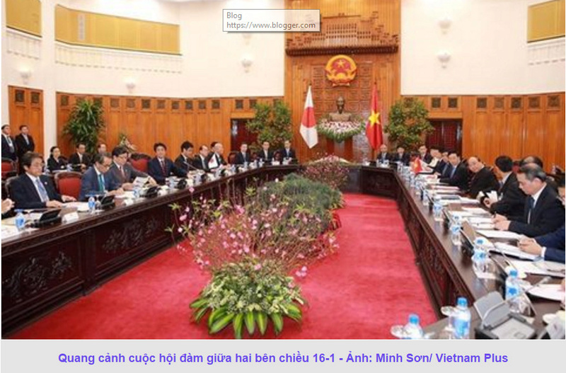 Thủ tướng Nhật Shinzo Abe thăm chính thức Việt Nam 312