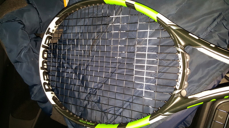 Telaio Pure Drive Wimbledon 2016 filato 20170113