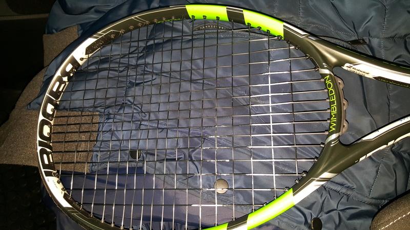 Telaio Pure Drive Wimbledon 2016 filato 20170119