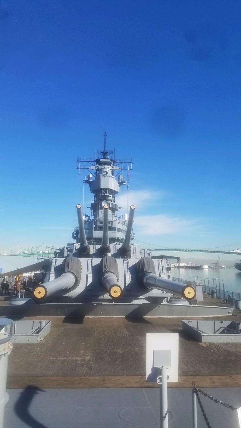 U.S.S Battleship of IOWA 20170114