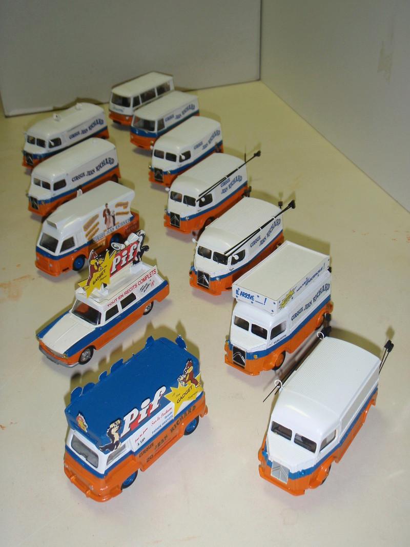 Citroën Les utilitaires miniatures au Cirque P7281812