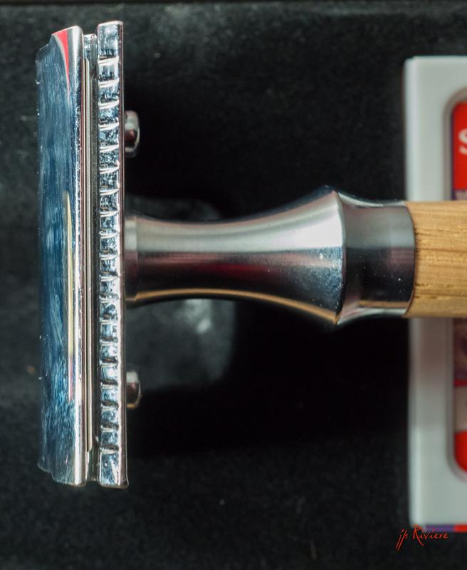 Timor 1362 manche inox et bois Timor410