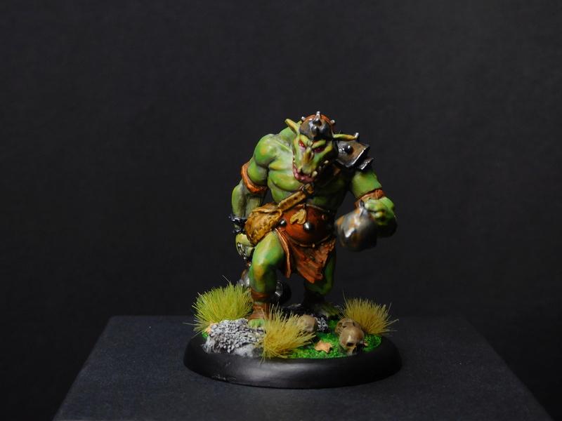 Début de peinture Orcs et Humains Dscn9811