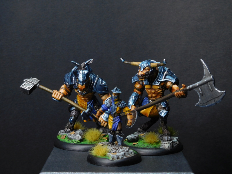 Début de peinture Orcs et Humains Dscn9813