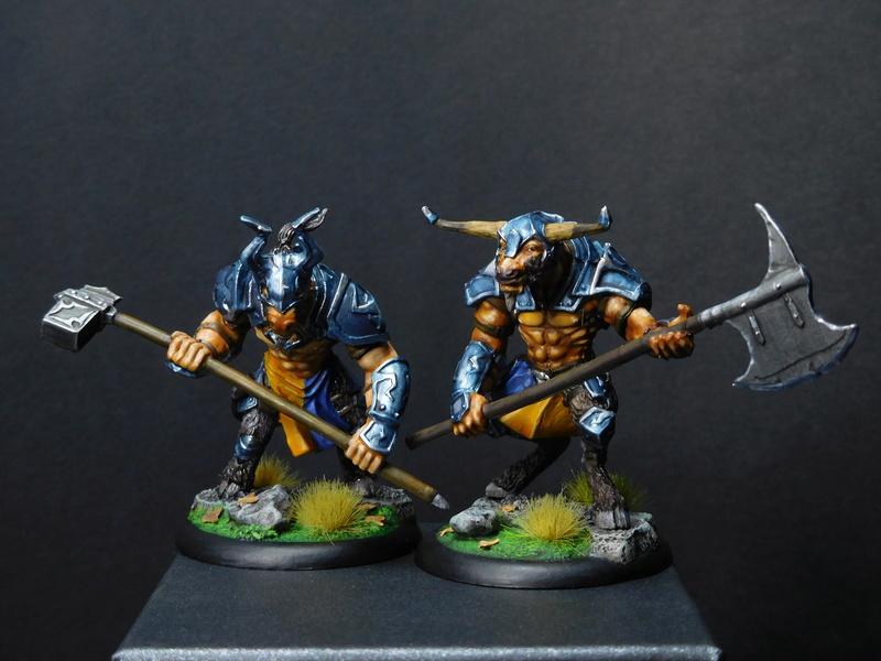 Début de peinture Orcs et Humains Dscn9814