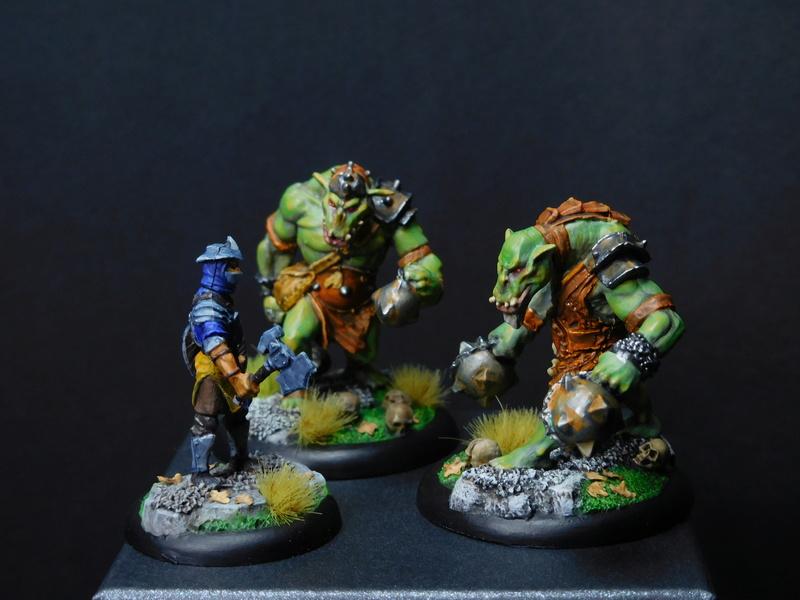 Début de peinture Orcs et Humains Dscn9815