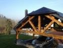 Carport en chêne (2,5m x 4,5m) dimensionnement des bois Carpor15