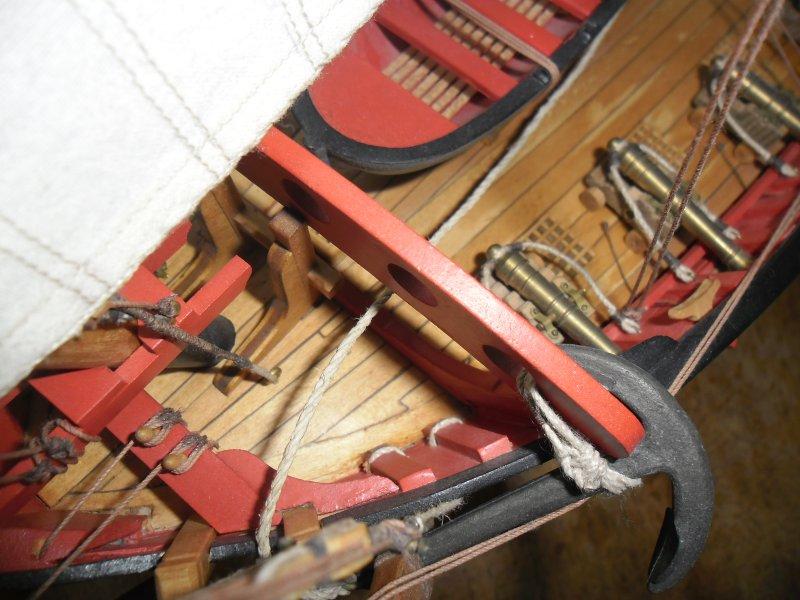 le chebec L\'Indiscret - Chebec Français de 1751 - Aeropiccola 1/36 - L'Indiscret - Chebec Français de 1751 - Aeropiccola 1/36ème Indisc26