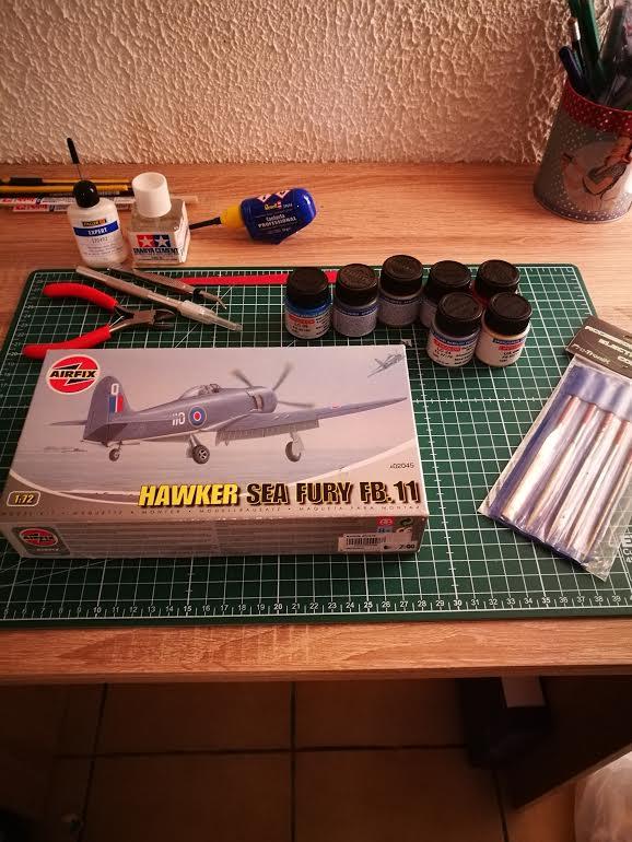 Première maquette : Hawker Sea fury FB 11 (Airfix 1/72) Unname10