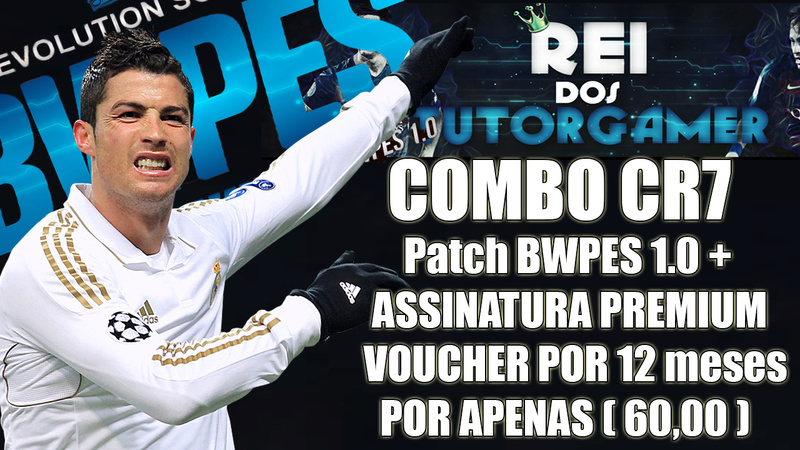 Combo Cr7 - Patch Bwpes + 12 Meses De Voucher Premium Customizer Ttttt10