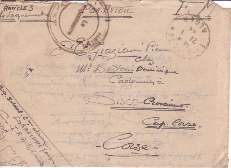 Lettres FM par avion 1944 Articl10