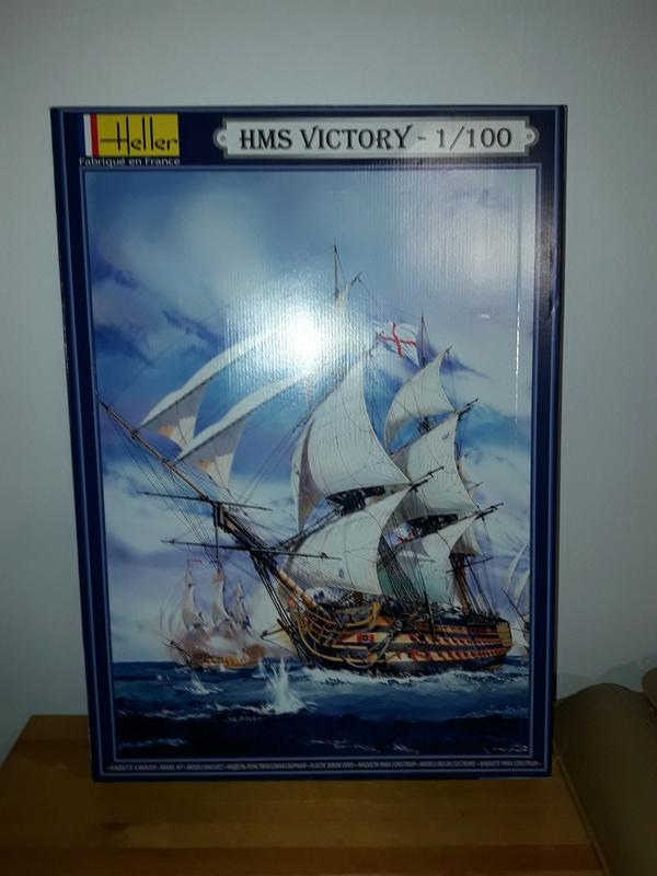 HMS VICTORY HELLER 1/100 20170110