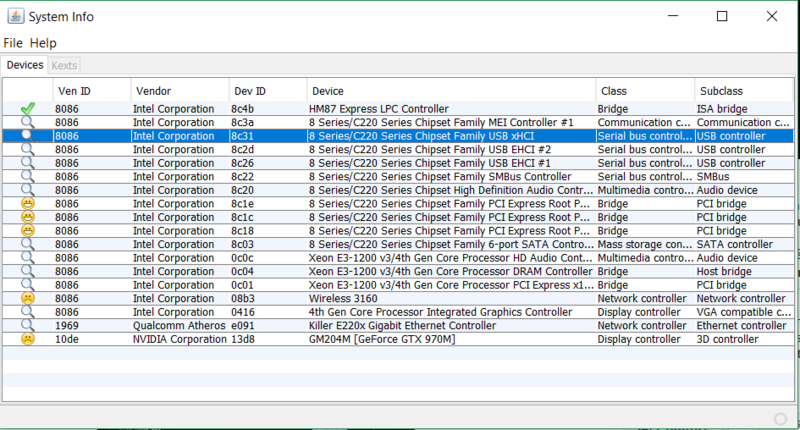 Installation El capitan sur MSI GE62 2QF Apache PrO Hackin10