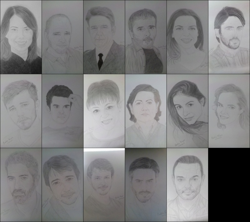 Dibujos de los personajes realizados por Beatrice Alicia10