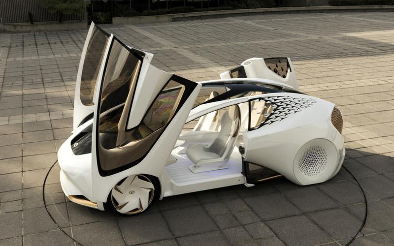 La Concept-i, la voiture intelligente de Toyota nommée Yui  08629610