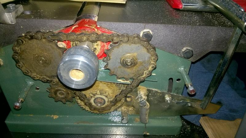 Kity 532 - Réparation entrainement raboteuse Wp_20110