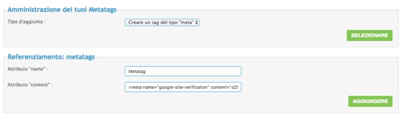 google - Metatag google Scherm11