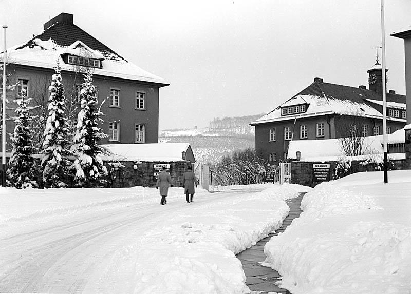 BMH Iserlohn in snow 1957-58 Snow_111