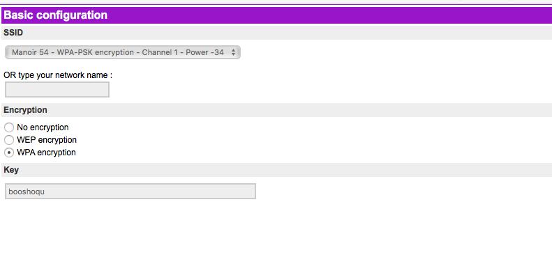 Impossible de connecter le Nazbag v2 à mon réseau WIFI Nazbag18