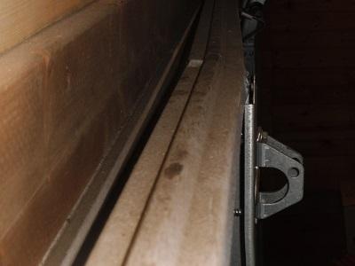Garage door top stiffener Garage19