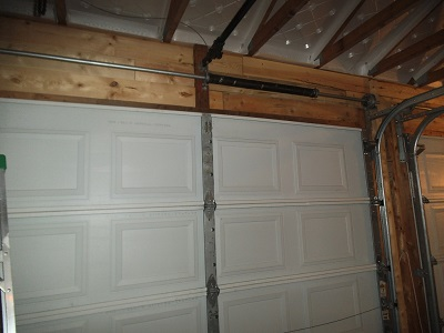 Garage door top stiffener Garage21