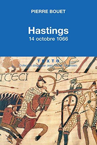Hasting 14 octobre 1066, Pierre Bouet  51noeu10