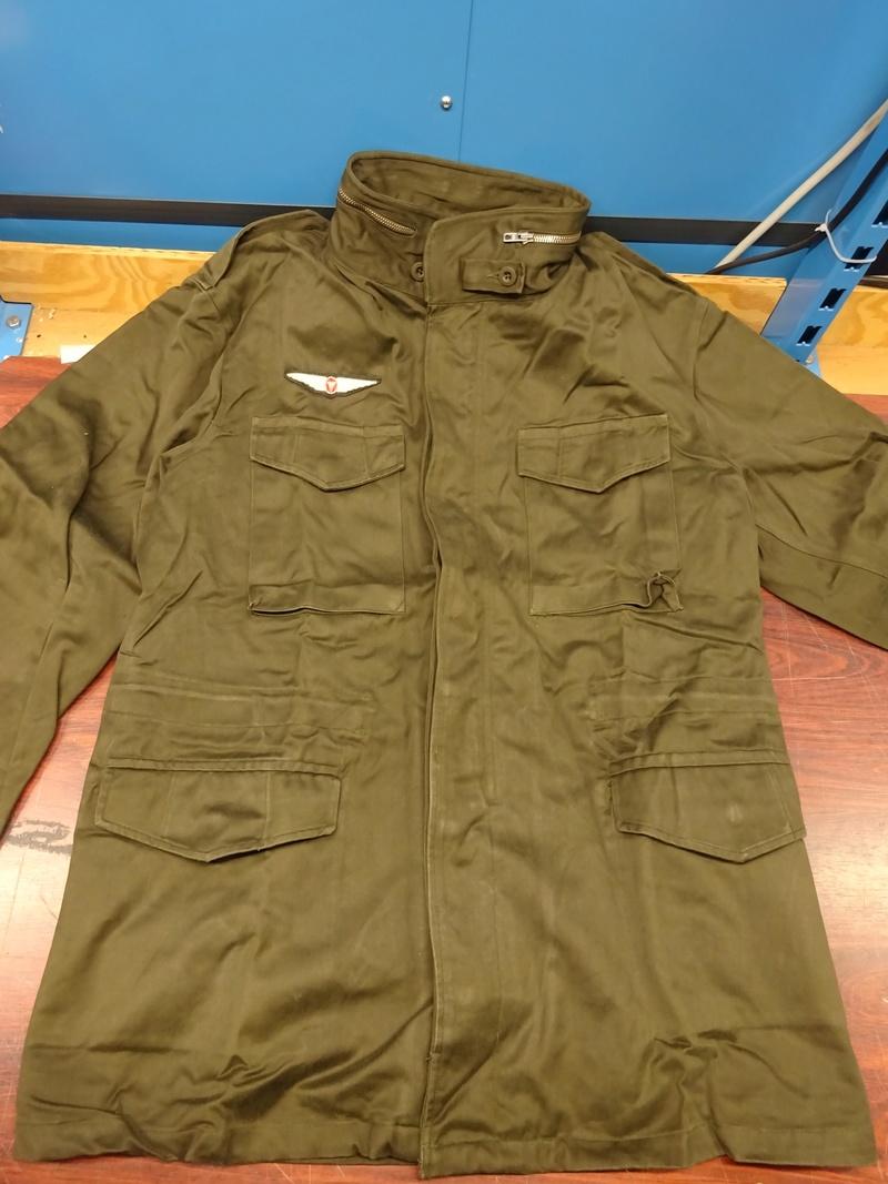 first version of a Feldjacke 75, später Feldjacke, schwer (~ field jacket 75, later field jacket, heavy [duty]) 01_dsc11