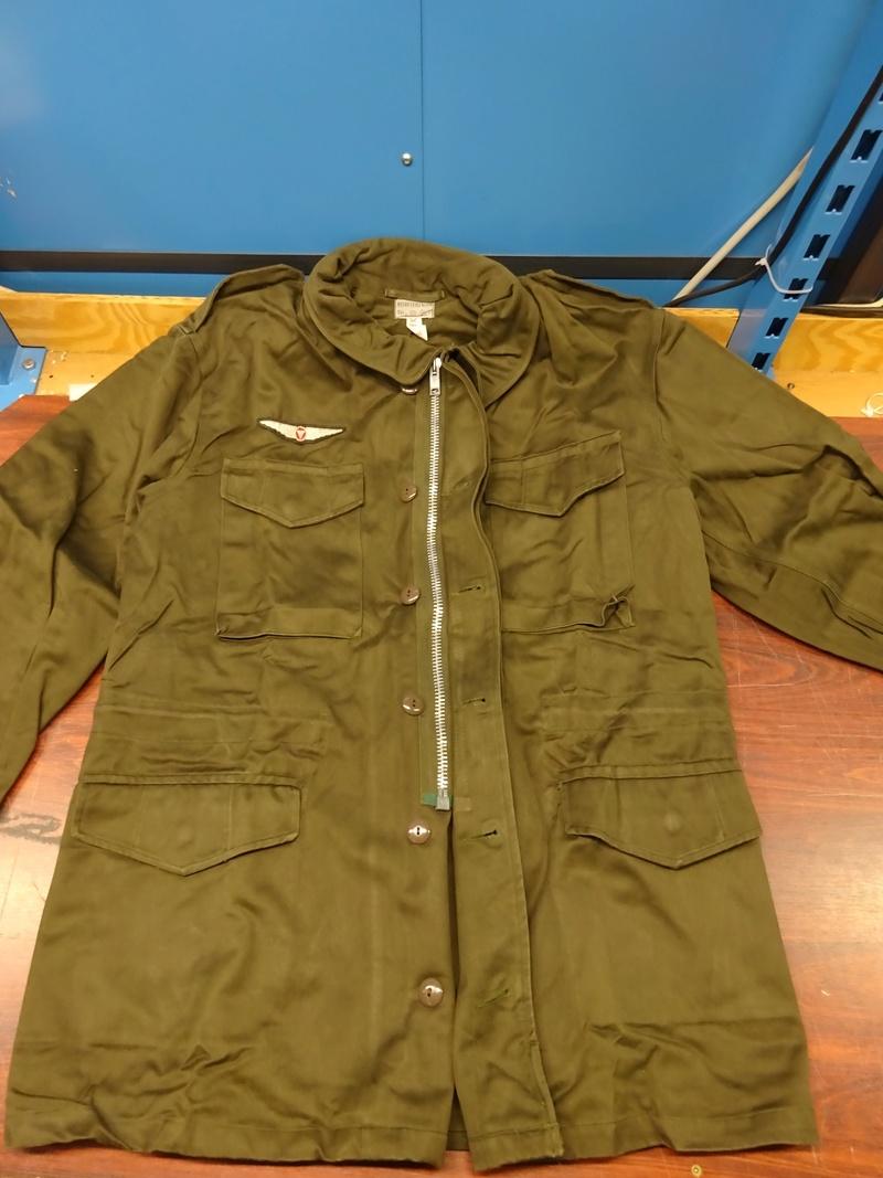 first version of a Feldjacke 75, später Feldjacke, schwer (~ field jacket 75, later field jacket, heavy [duty]) 02_dsc11