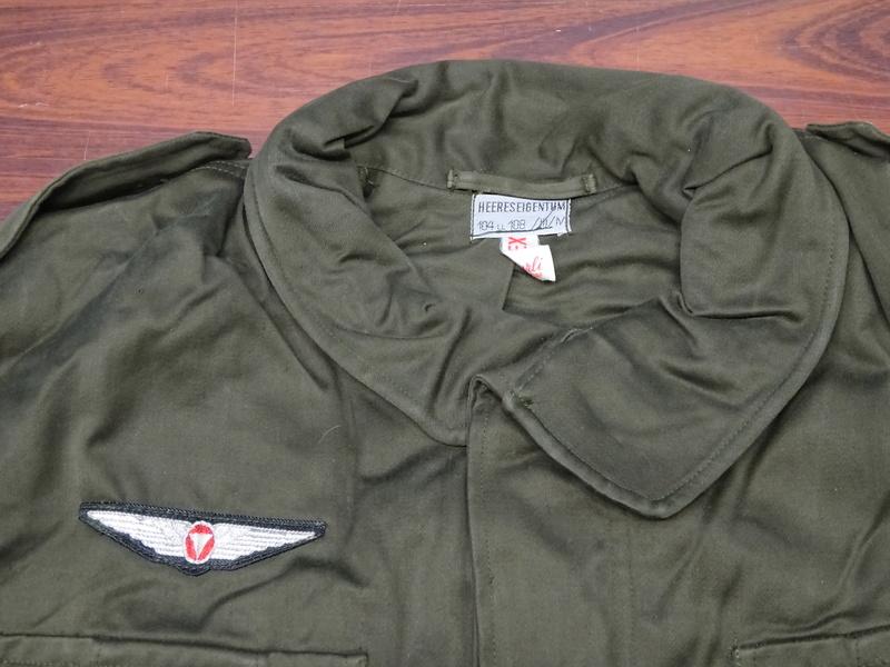 first version of a Feldjacke 75, später Feldjacke, schwer (~ field jacket 75, later field jacket, heavy [duty]) 03_dsc11