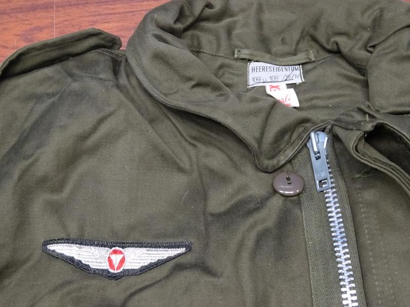 first version of a Feldjacke 75, später Feldjacke, schwer (~ field jacket 75, later field jacket, heavy [duty]) 04_dsc11