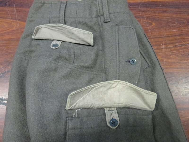 some pics of never worn Austrian Army mountain troops' knee-breeches (Berghose) 05_dsc10