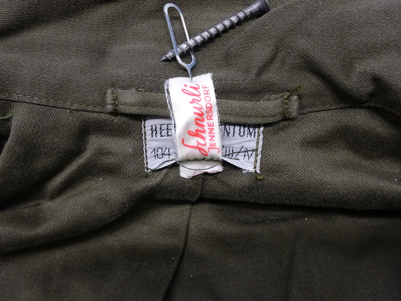 first version of a Feldjacke 75, später Feldjacke, schwer (~ field jacket 75, later field jacket, heavy [duty]) 06_dsc11