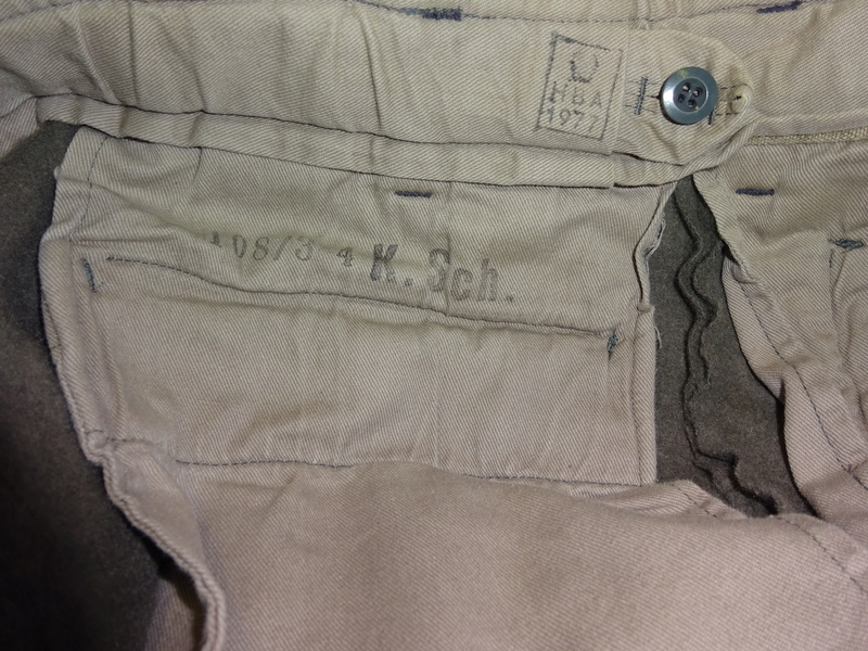 some pics of never worn Austrian Army mountain troops' knee-breeches (Berghose) 08_dsc10