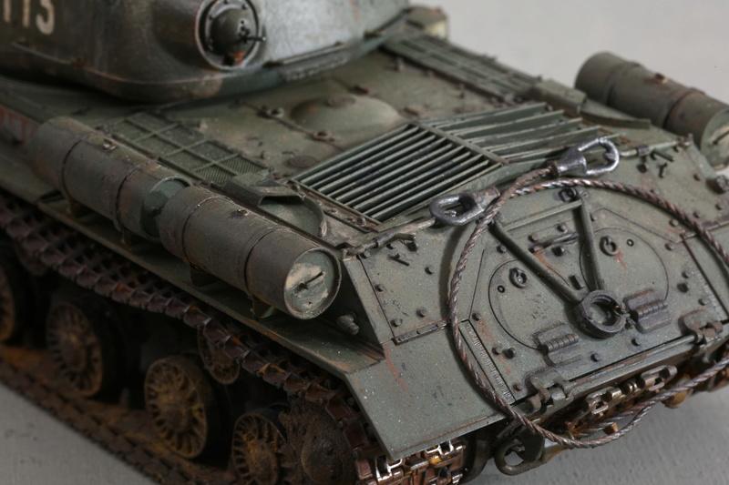 Tamiya 1/35 JS-2  russian heavy tank 1944 ref 35289 Js-25114