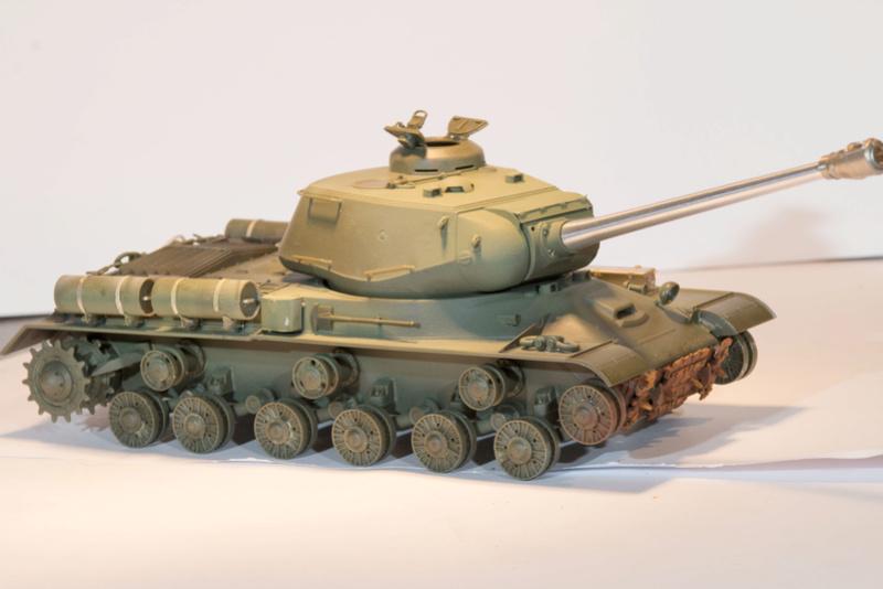 Tamiya 1/35 JS-2  russian heavy tank 1944 ref 35289 Js-28910