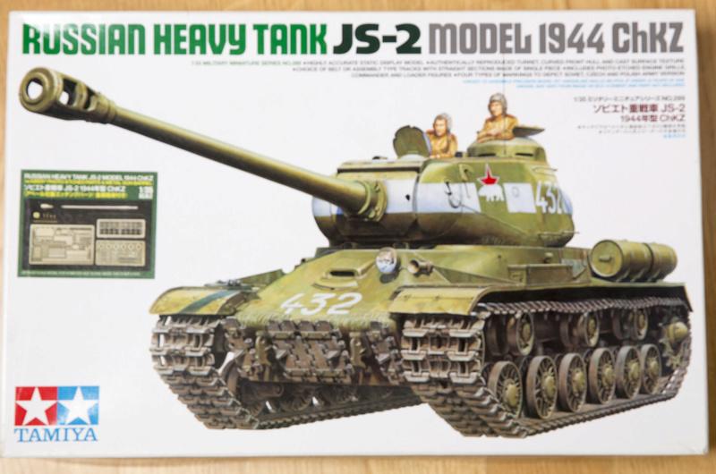 Tamiya 1/35 JS-2  russian heavy tank 1944 ref 35289 Js-2an10