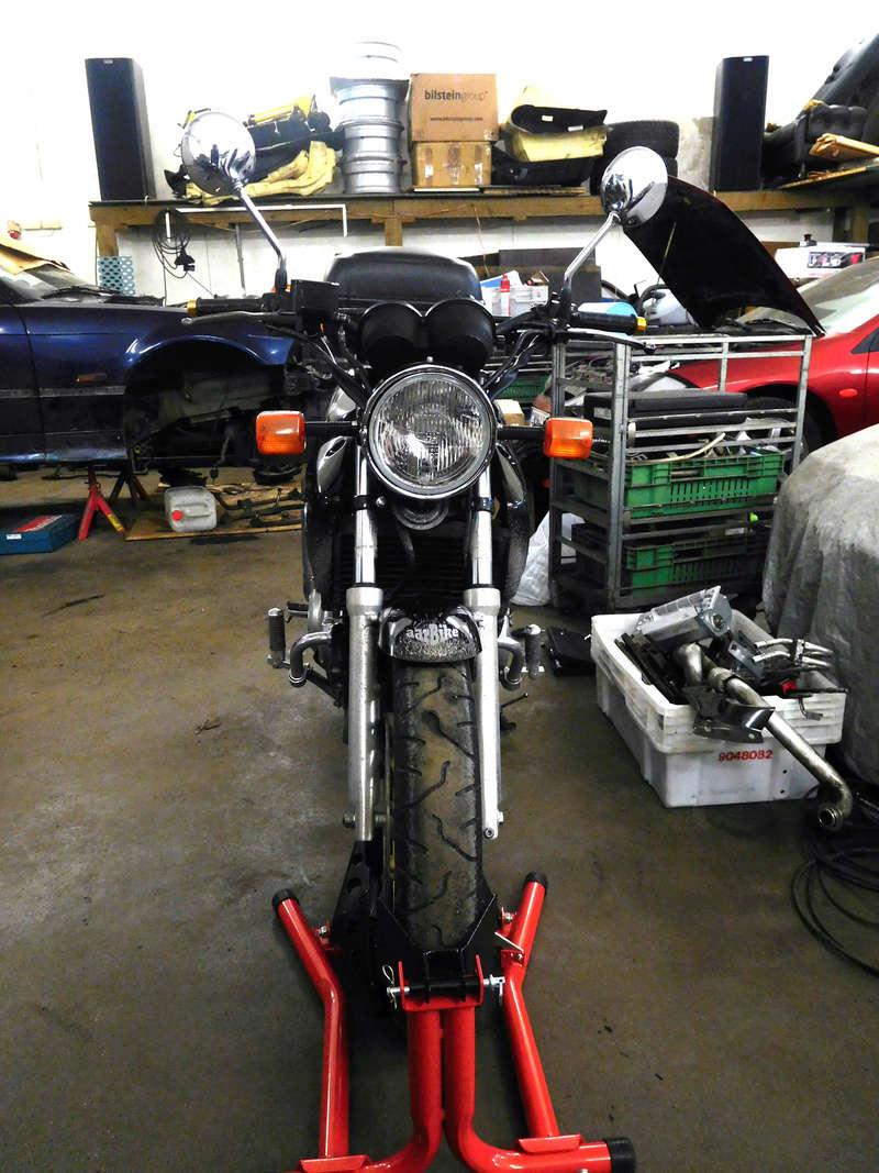 2000 CB500 Brat Style Cafe Racer Project Dscn0712