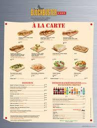 Cartes des restaurants de Disneyland Paris Images10