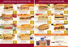 Cartes des restaurants de Disneyland Paris Tylych15
