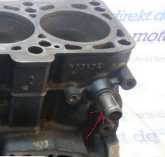 tuyau d'admission d'eau du bloc moteur DODGE , AUDI Tuyau_11