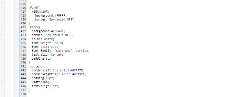 fff - Code css pour un tableau qui ne s'applique pas Sans_t10