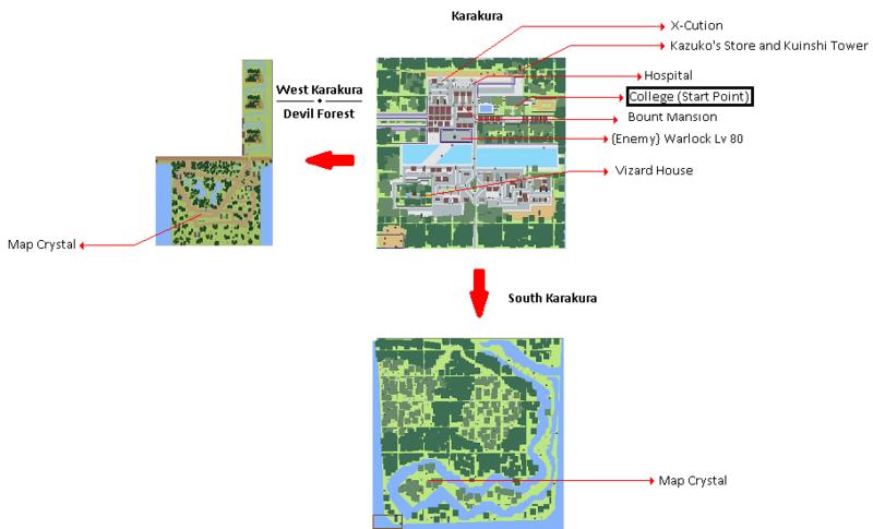 World Map and Infos Geki12