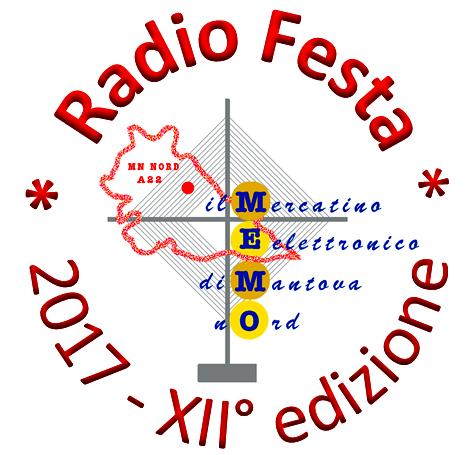 6 Maggio: Radio Festa XII M.E.M.O. Mercatino Elettronico  Logo10