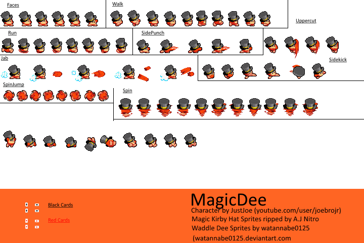 Some Kirby Character Magicd10
