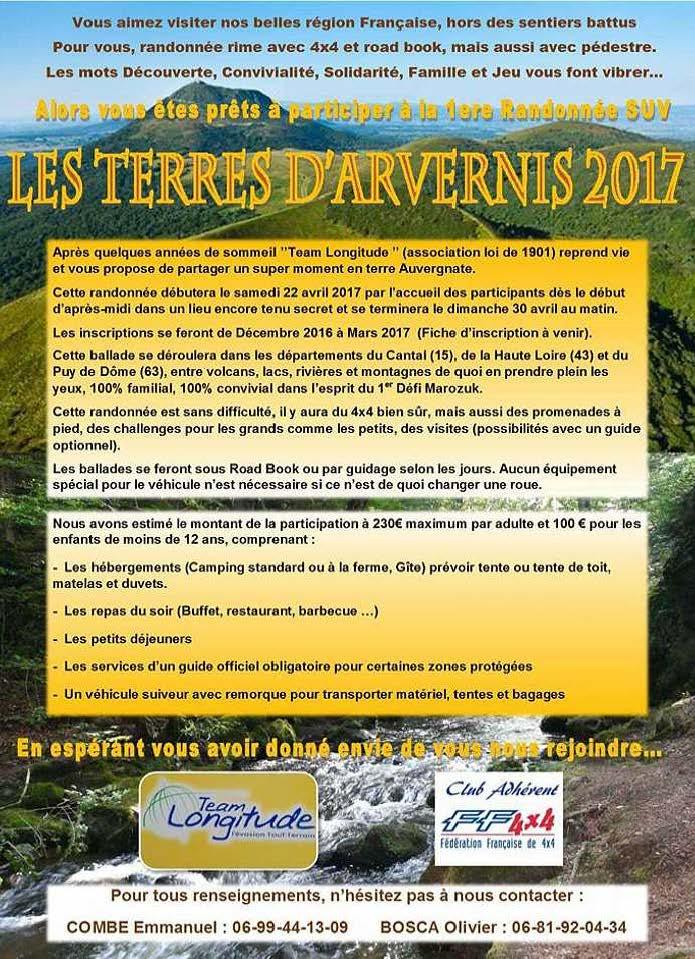 Les Terres d'Arvernis avril 2017 Affich10