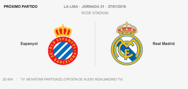 ESPANYOL - REAL MADRID 0-512